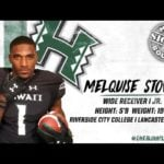 2019 Hawaii Football Early Signing Period: Melquise Stovall