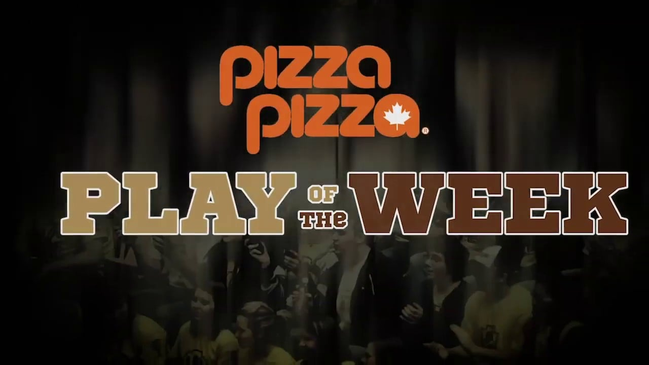 Tori Studler Finishes a Long Rally   Pizza Pizza Play of the Week (Feb 11-17)