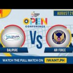 LIVE: SET 1   BaliPure vs. Air Force   August 21, 2019 (Watch the full game on iWant.ph)