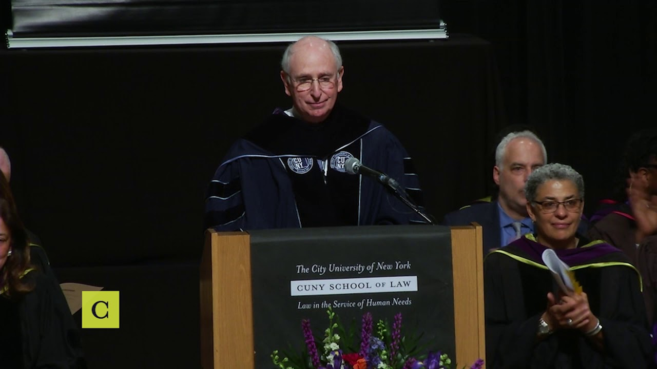 CUNY School of Law Commencement 2019