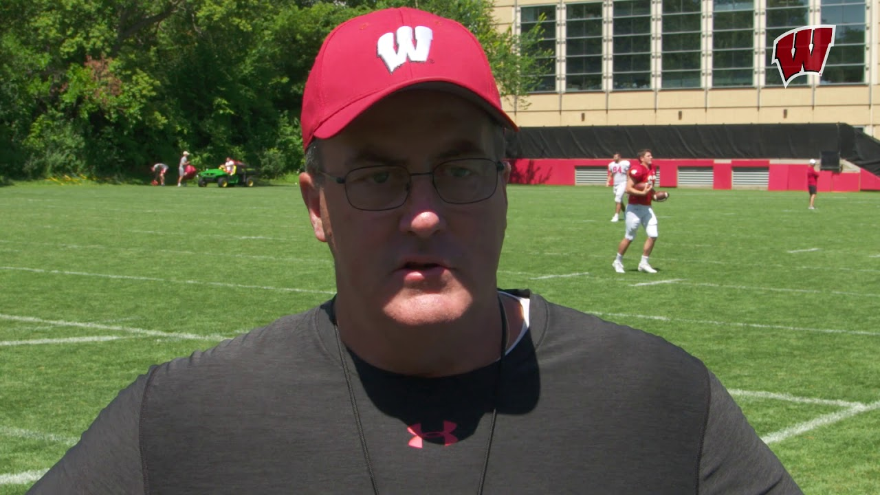 Paul Chryst on Zander Neuville's 6th Year of Eligibility